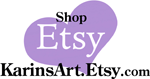 shop Karinsart on etsy